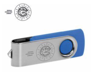 USB Techmate personalizado colegios