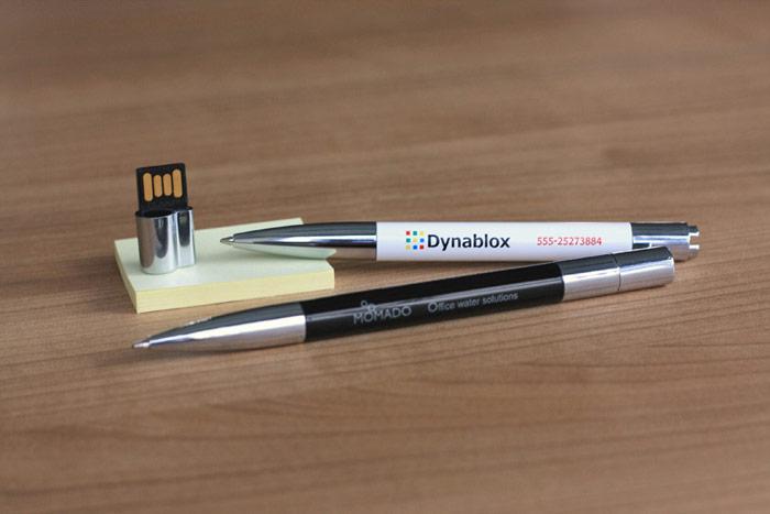 Bolígrafo USB personalizado