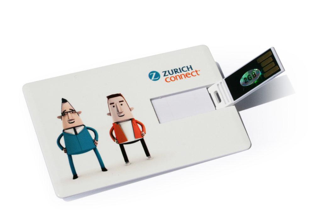 Tarjeta USB personalizada para empresas