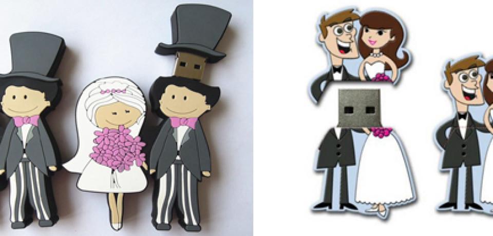 Tendencia: Regala usb para bodas a tus invitados