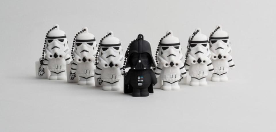 Lo más divertido: USB con formas de Star Wars