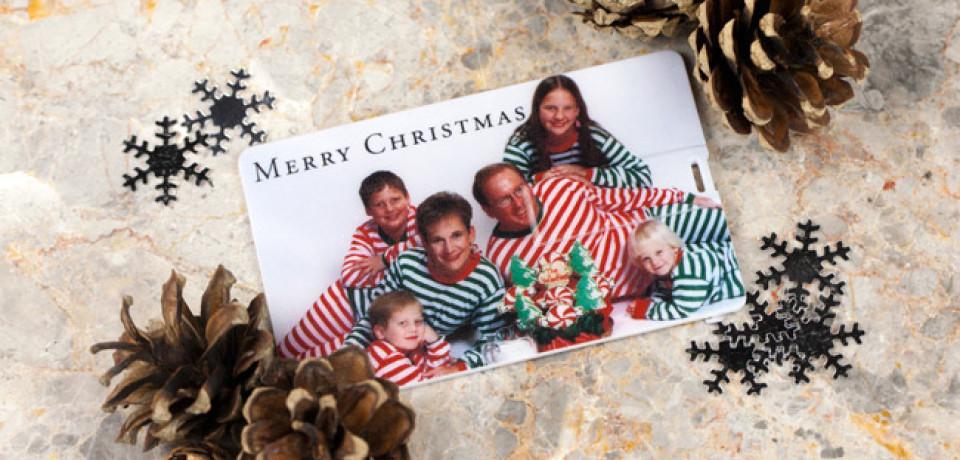 Tendencias: Tu tarjeta de Navidad que sea una memoria usb personalizada