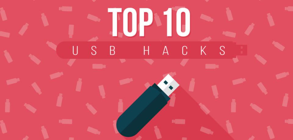 Las 10 cosas increíbles que puedes llegar a hacer con tu usb personalizado