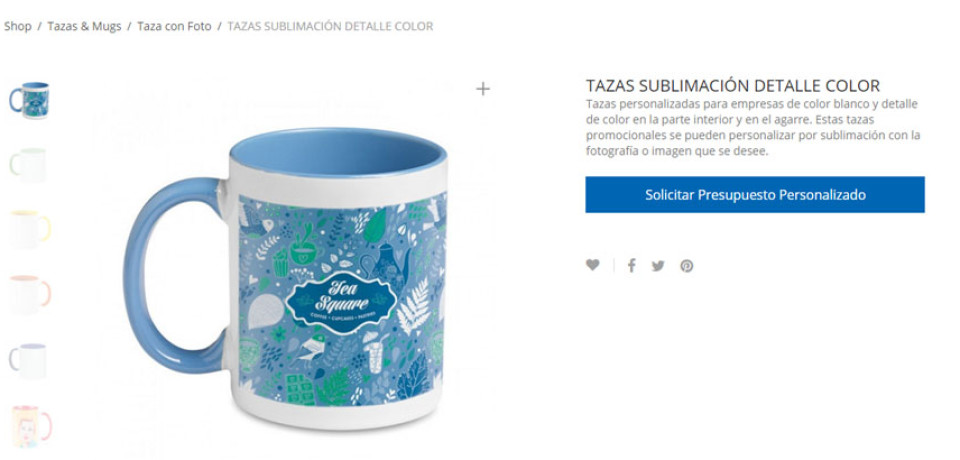 Gift Campaign S.L. lanza su nueva web de tazas publicitarias  personalizadas Tazaspublicidad.es