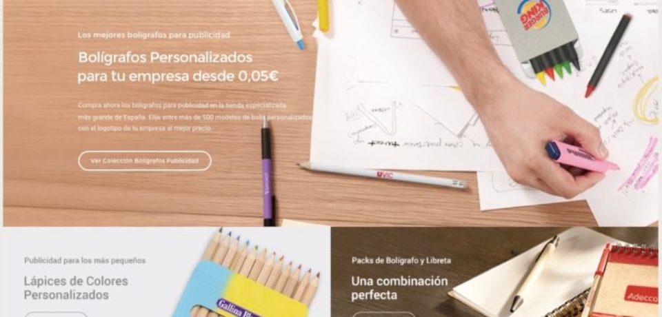 No solo vendemos usb personalizados, ahora también bolígrafos para empresas!