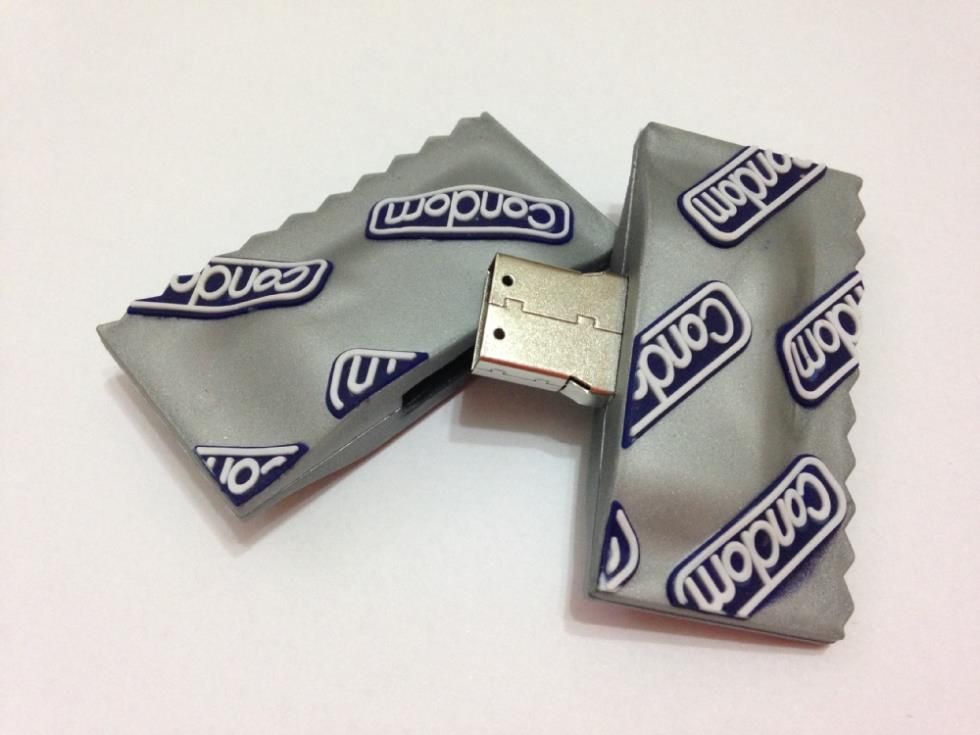 USB condón personalizado mediante impresión 3D