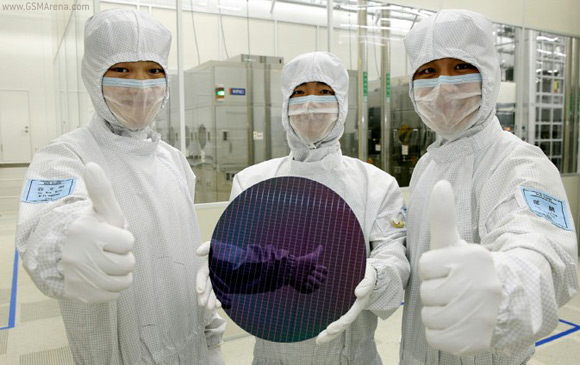 Fabricas de chips de memoria usb Samsung