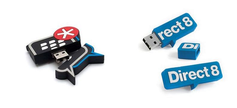 USBs publicitarios en 2D y 3D: la personalización llevada al siguiente nivel