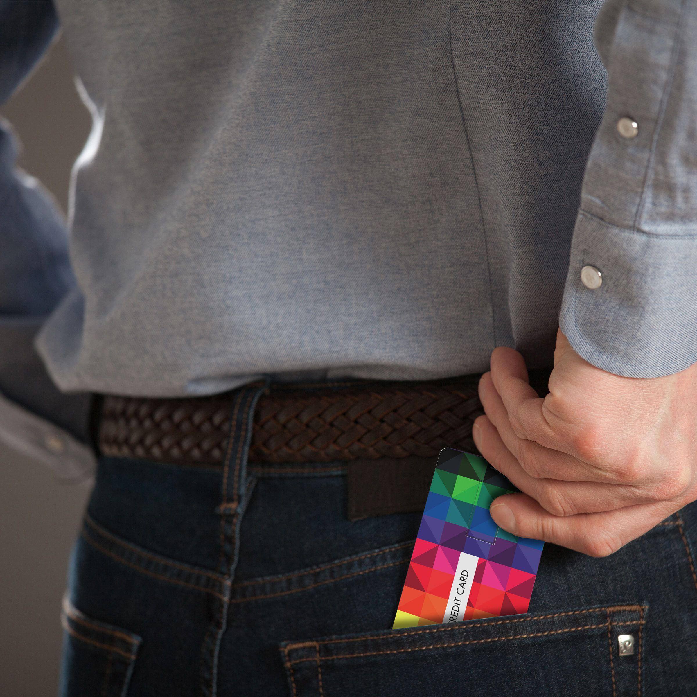 Tarjetas usb personalizadas de bolsillo