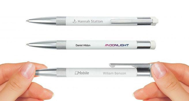 Bolígrafo usb con logo para empresas