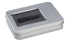 Caja metálica usb