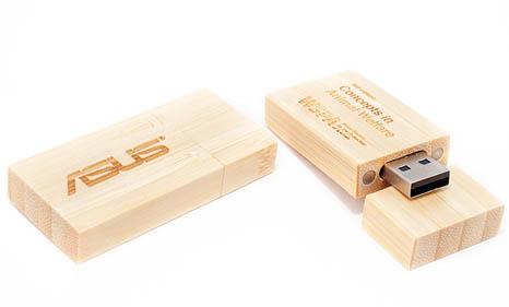 usb de madera personalizado empresas