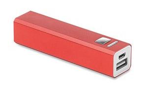 Powerbank Poweralu color Rojo