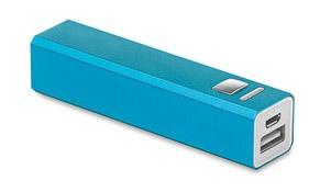 Powerbank Poweralu color Azul Claro