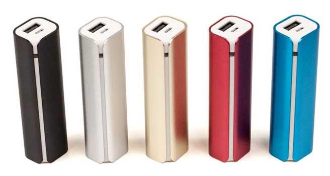 batería externa elegante para empresas