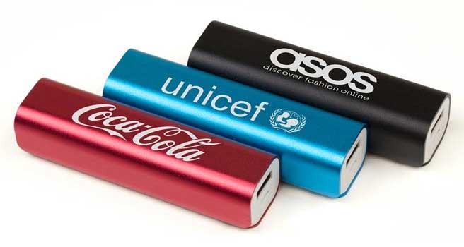 batería externa publicitaria para empresas