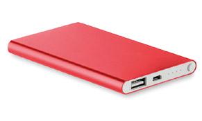 Powercar alu color Rojo