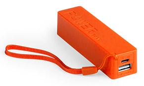 Powerbank Powercolor color Naranja