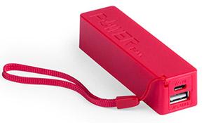 Powerbank Powercolor color Rojo