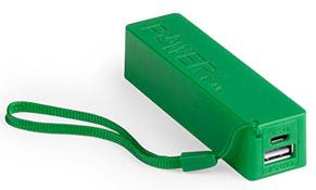 Powerbank Powercolor color Verde