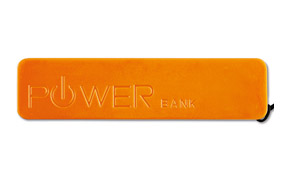 Powerbank Mate color Naranja