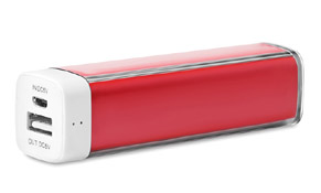 Powerbank Poweralu color Rojo