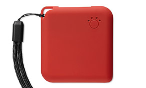 Powerbank MAX color Rojo