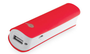 Powerbank Powertrend color Rojo
