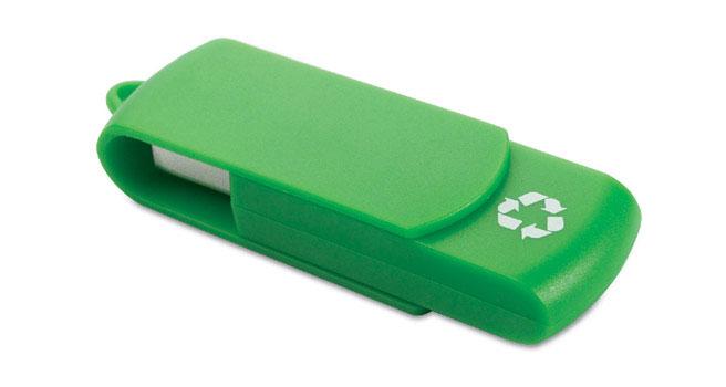 pendrive personalizado reciclado