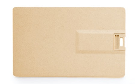 Tarjeta USB ecológica promocional