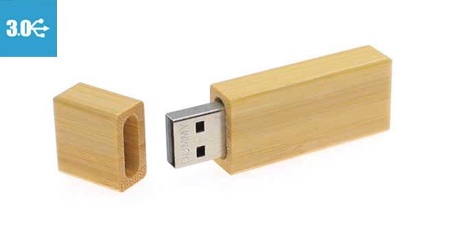 memoria usb personalizada 3.0 de madera