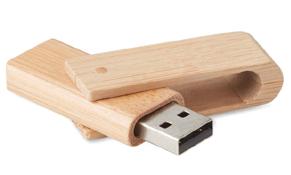 usb de madera de bambú