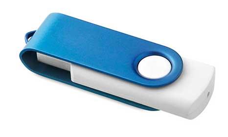 USB Serigrafiado Azul