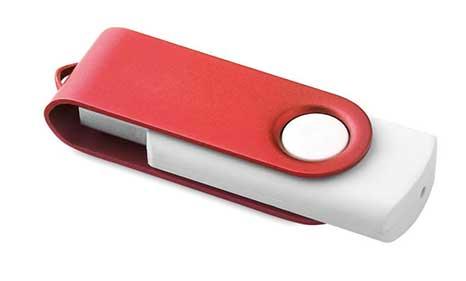 USB Serigrafiado Rojo