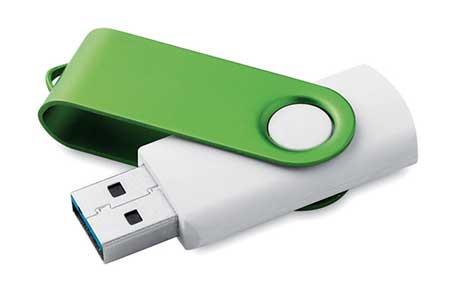 USB Serigrafiado Verde