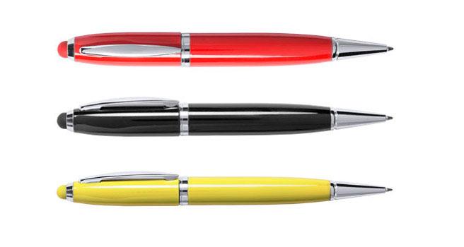 Bolígrafo usb con logo