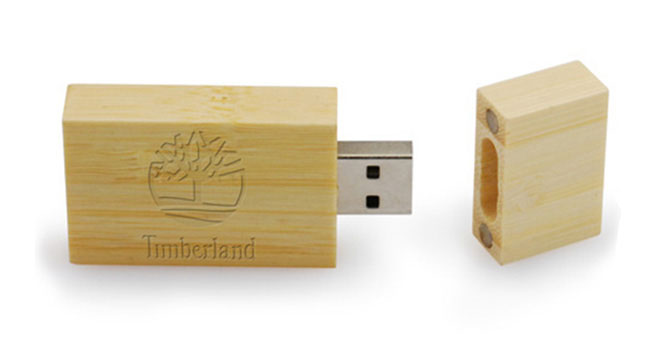 pendrives ecológicos de madera