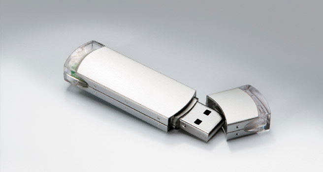 Llave usb personalizada Metalsharp