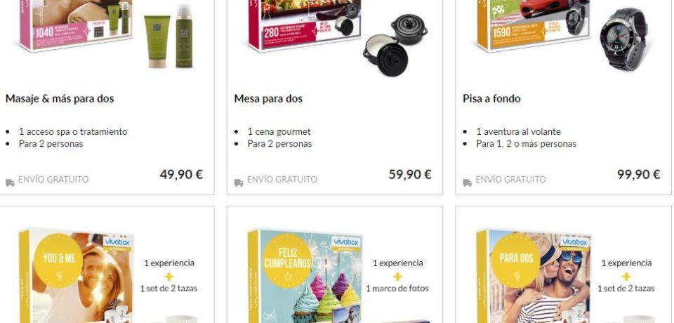 Baterias externas publicitarias de la empresa Vivabox