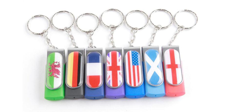 Memorias usb personalizadas para paises