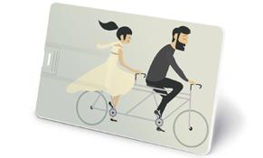tarjeta usb para regalo de bodas