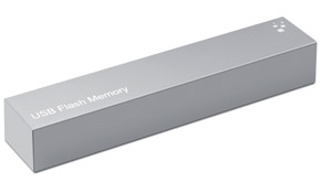 Caja cartón bolígrafo usb