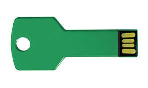 Llave usb verde