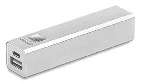 powerbanks personalizados de aluminio